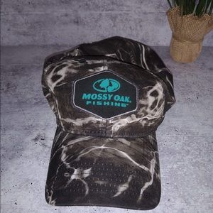 Mossy Oak Fishing Camo Hat Size L/XL